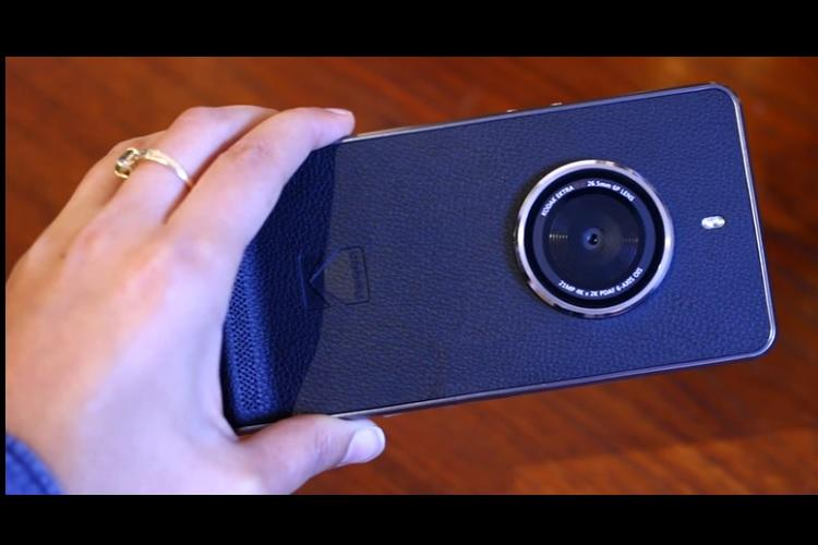 Kodak to unveil a smartphone that looks like a camera