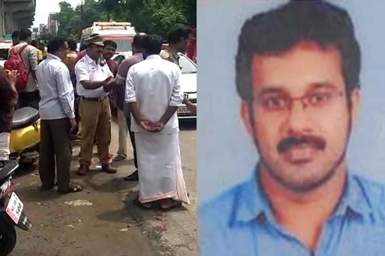 Kochi woman escapes killer pothole Hours later it claims another life