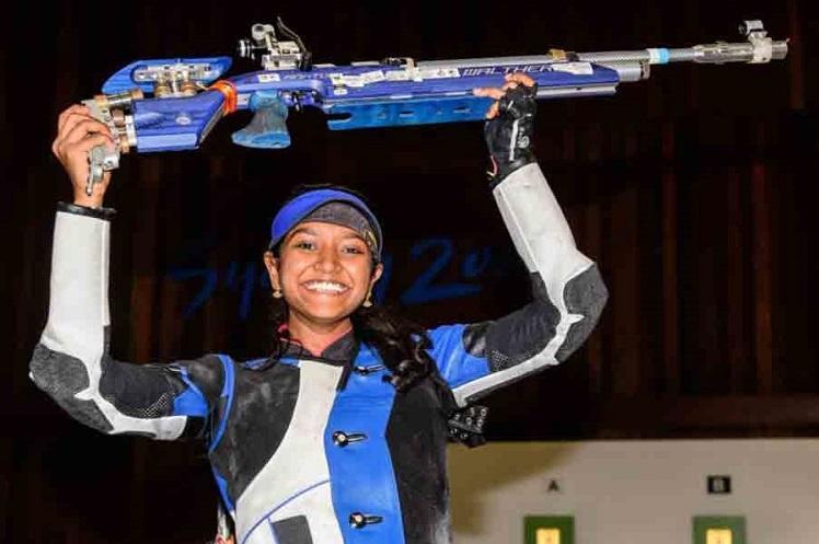 Indias Elavenil Valarivan grabs Gold medal in Shooting World Cup
