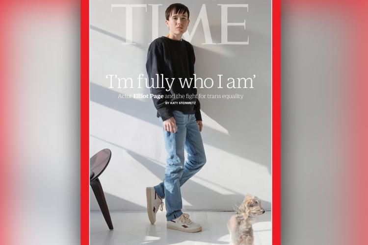 Elliot Page on Time Magazine cover
