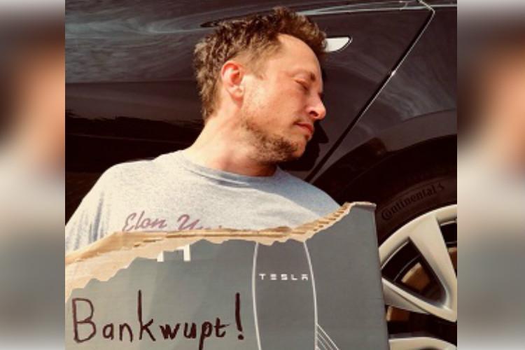 Tesla goes bankrupt Elon Musks April Fools Day prank goes viral