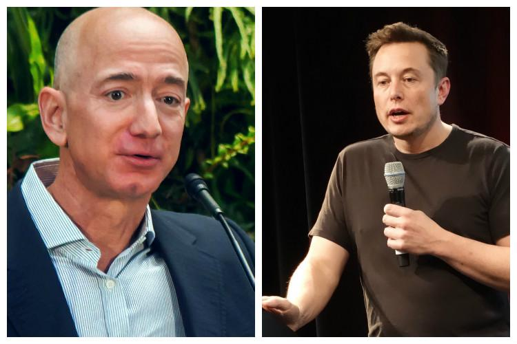 Bezos heats up space race against Musk aims Blue Origin commercial flight next year