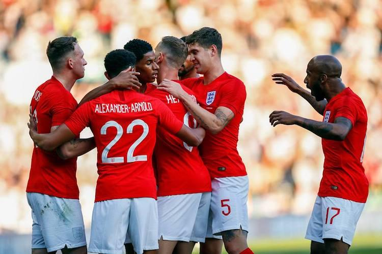 England beat Costa Rica in final World cup warm-up match