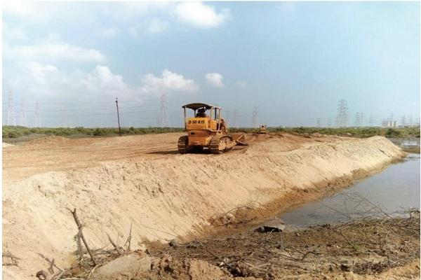 Chennais Kamarajar Port illegally expanding and destroying the Ennore creek say activists