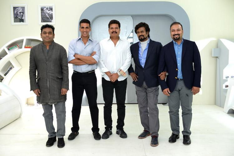 Image result for AR Rahman on Rajinikanth film 2.0: The climax is incredible - Movies ...