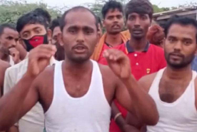 Migrants stranded in Tamil Nadus Erode district