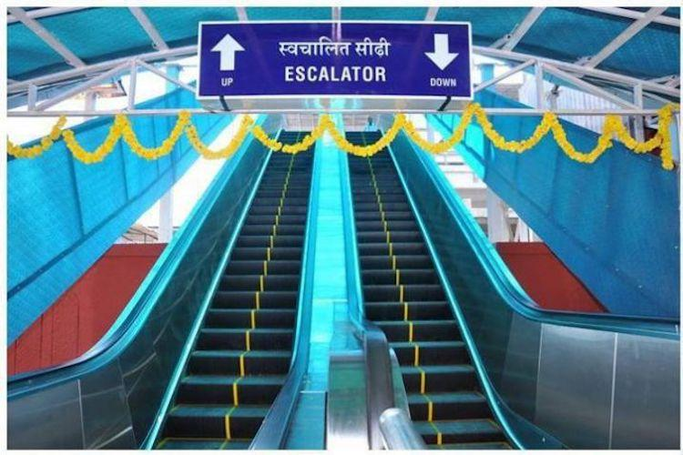 Only stations with 100000 footfalls per day now to have escalators Railways