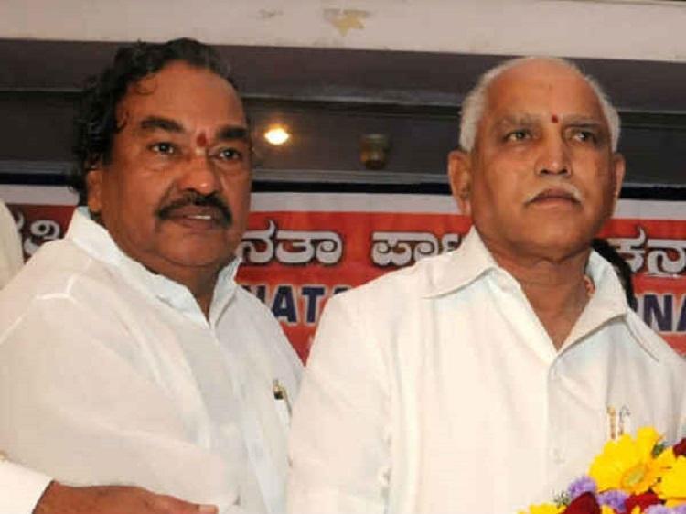 Fresh trouble for Yeddyurappa Eshwarappa restarts talk of Sangolli Rayanna Brigade