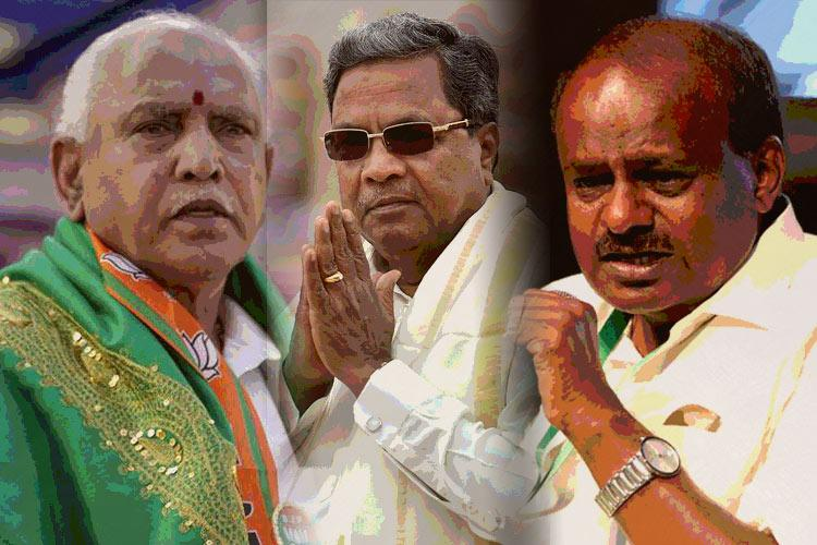 Pollsters divided on Ktaka Some say BJP some Cong some predict hung Assembly