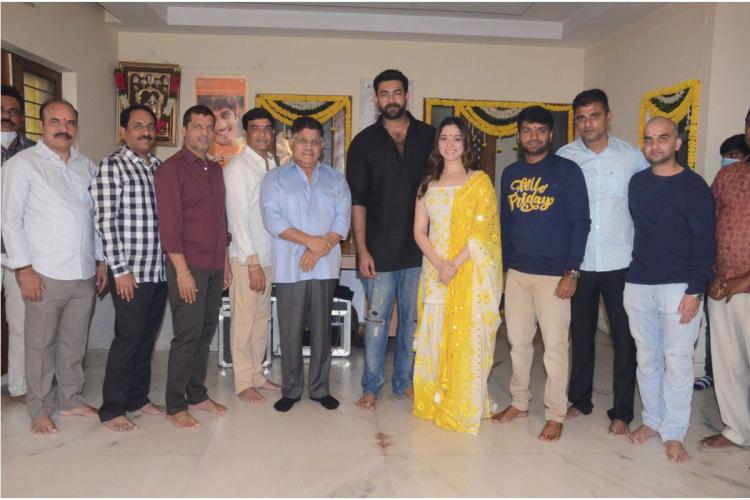 Telugu film F3 launched with pooja ceremony