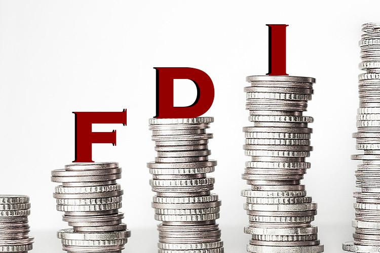 FDI inflows into India rose by 13 during April-August 2020