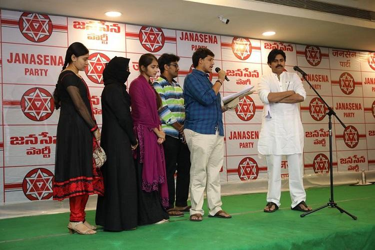 Is AP govt busy with elections Pawan slams lack of action in Fathima College case