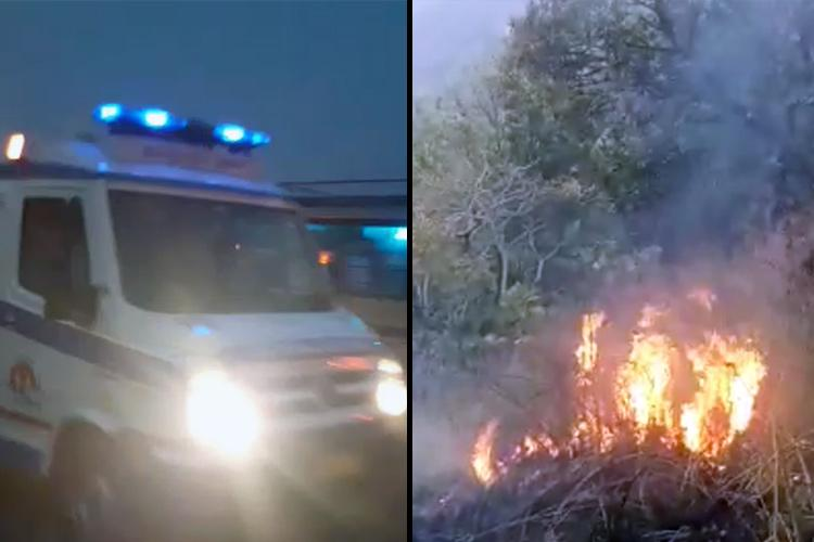Over 20 students stuck in Theni forest fire massive rescue operations underway