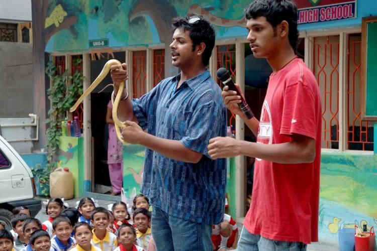 Snake buddies This Hyderabad NGO is busting myths rescuing the reptiles for over two decades