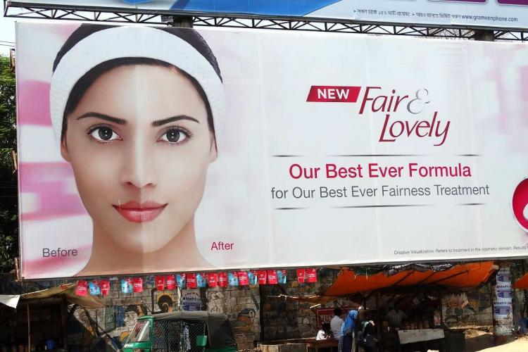 an adv of fair and lovely