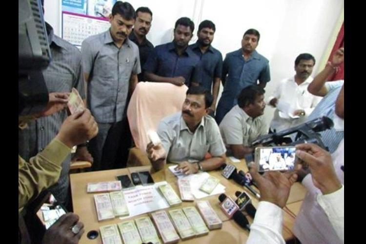 Hyderabad police busts fake currency racket busted linked to Pakistan three held