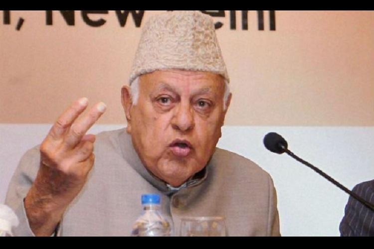 India has no guts to take back Pakistani Kashmir Farooq Abdullah