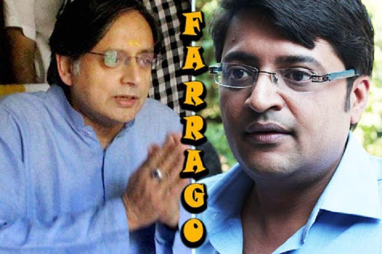 Shashi Tharoor vs Arnab Goswami MP takes anchor to court for defamation files 151 pg case