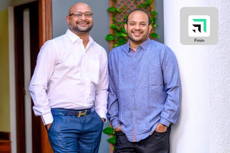Finin co-founders posing