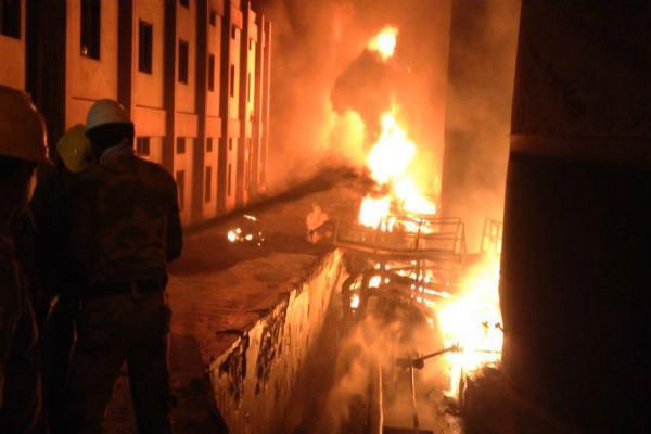 Major fire at bio-diesel unit in Vizag no casualties reported