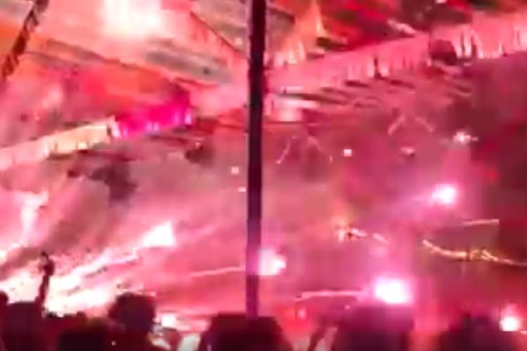 Fireworks display goes awry at Kerala temple 17 people injured
