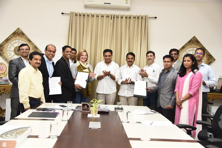 GEs FirstBuild signs MoU with Telangana govt to set up space at T-Works