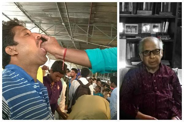 Its a joke Scientist PM Bhargava speaks up against Hyderabad fish prasadam