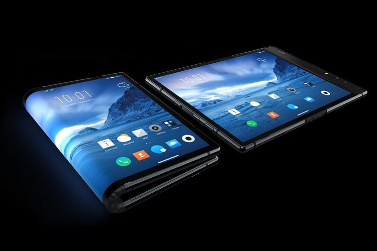 Samsung teases its first foldable phone, the Samsung Galaxy F