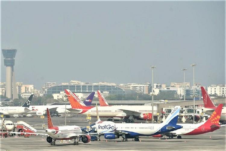 Flights on the runway
