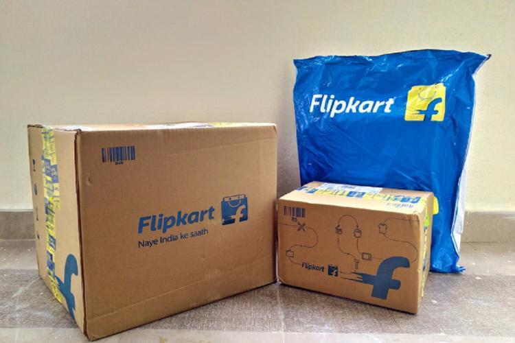 Flipkart parcels