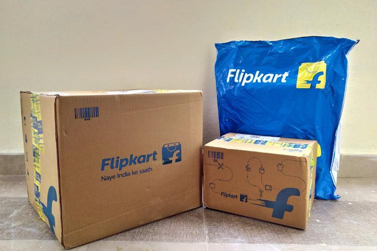 Flipkart delivery packages