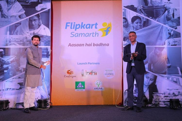 Flipkart launches Samarth an initiative to empower artisans weavers and craftsmen