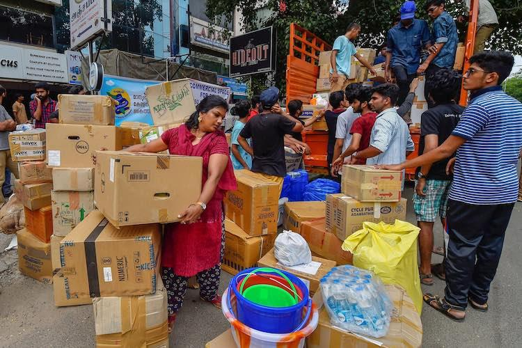 Flood-hit Kerala Karnataka in need of supplies and aid List of collection centres