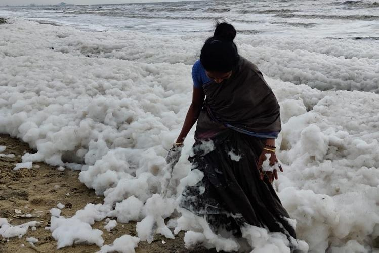 Watch Why Chennais Marina Beach spews foam every monsoon
