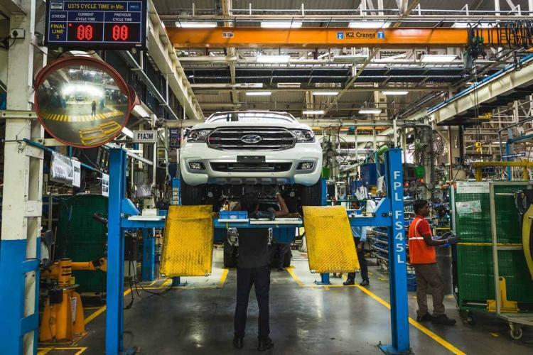 Ford manufacturing unit