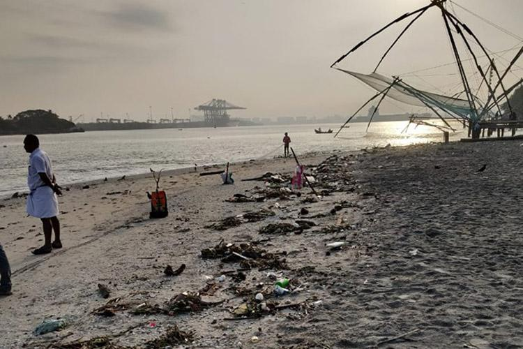 Ernakulam district administration bans non-recyclable plastic near Fort Kochi beach