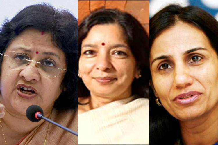 Indias three women bankers in Fortunes list
