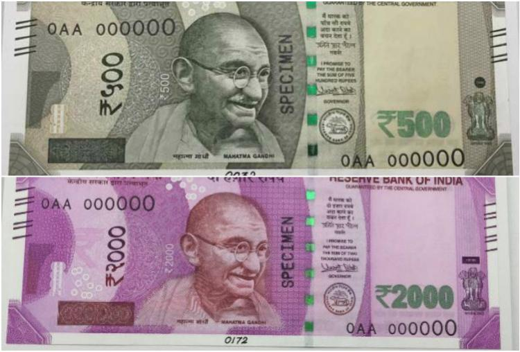 New Rs 500 Rs 2000 notes to be available at ATMs from Friday