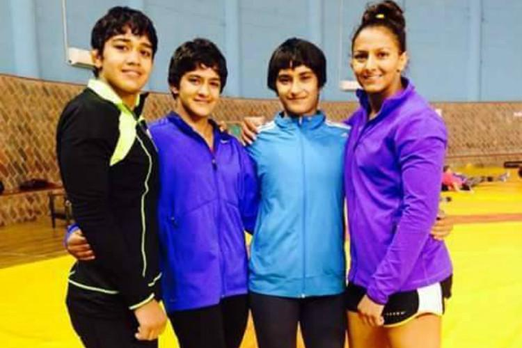 Phogat sisters axed from national camp for indiscipline Asiad 2018 hopes over