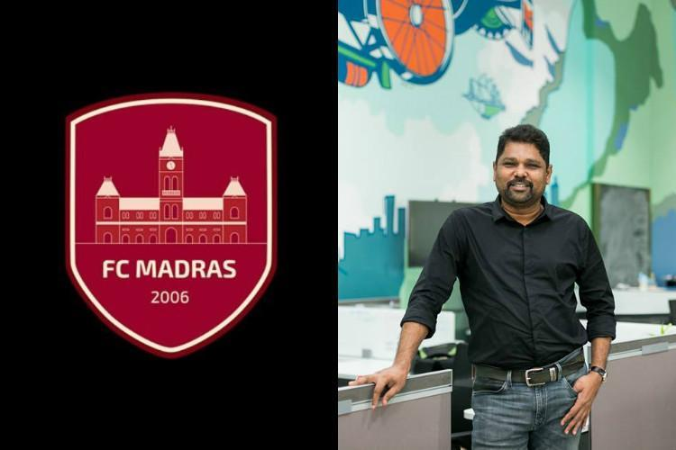 Freshworks founder Mathrubootham starts venture with FC Madras to promote football