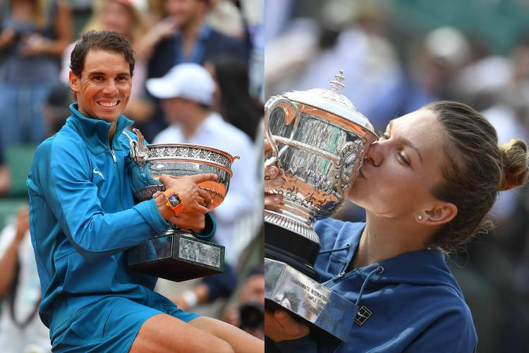 Nadal Halep continue to top ATP rankings after French Open triumph