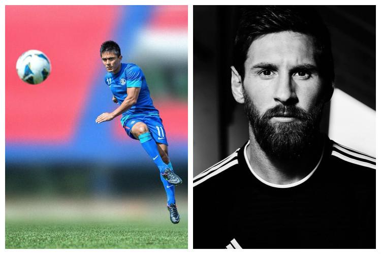 World Cup Messi greatest but Argentina not on Chhetris list of contenders