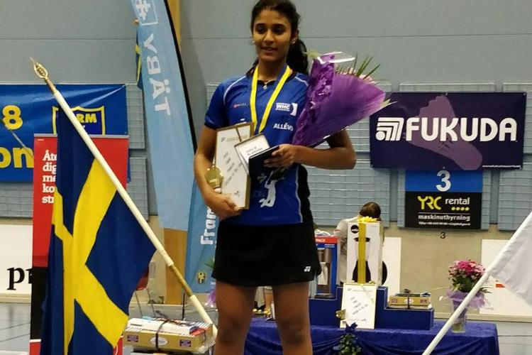 17-yr-old TN girl Ashwathi Pillai will be 1st Indian to play for Sweden in Youth Olympics