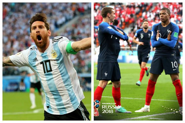 World Cup Struggling Argentina take on France in mouth-watering clash