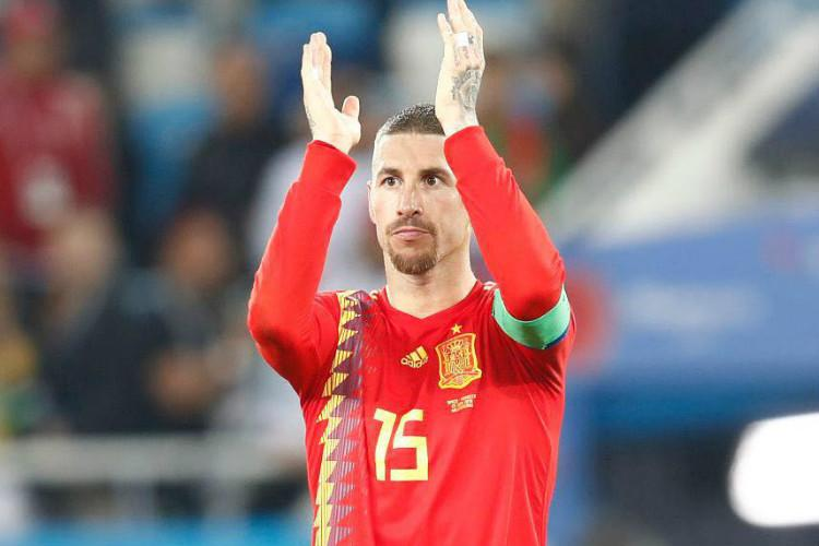 Will play 2022 World Cup with white beard Ramos looks ahead after Spain defeat