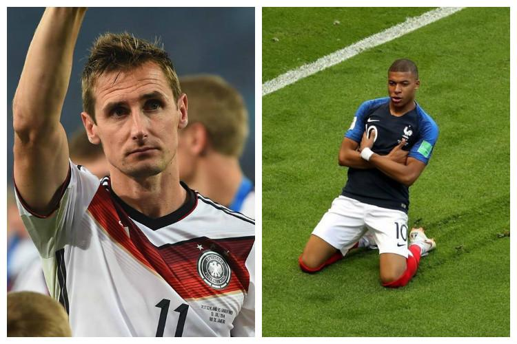 Klose predicts Mbappe will beat his all-time World Cup goals record