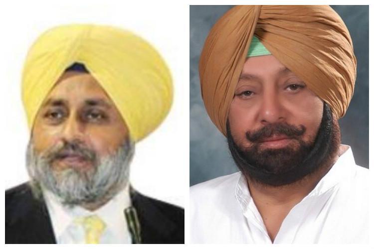 Sukhbir Badal accuses Congress for fanning terrorism Amarinder calls him a failure