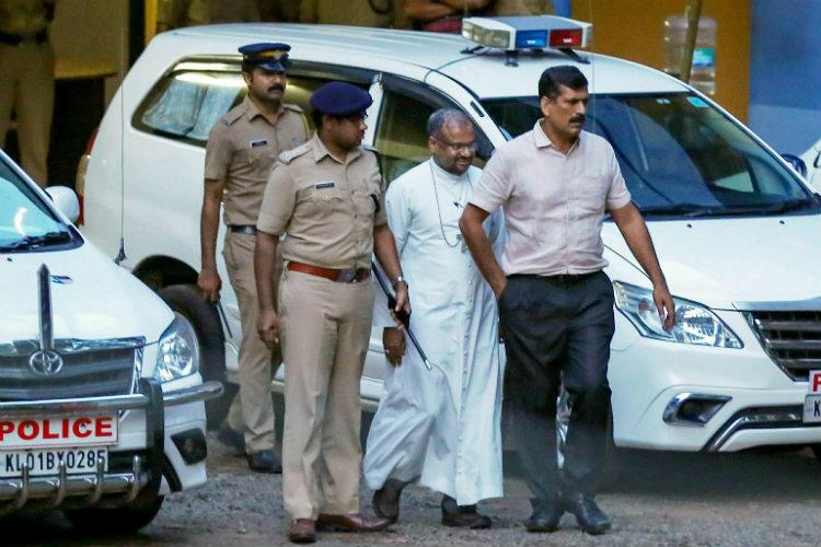 Hours after arrest, Bishop Mulakkal complains of chest pain, hospitalised