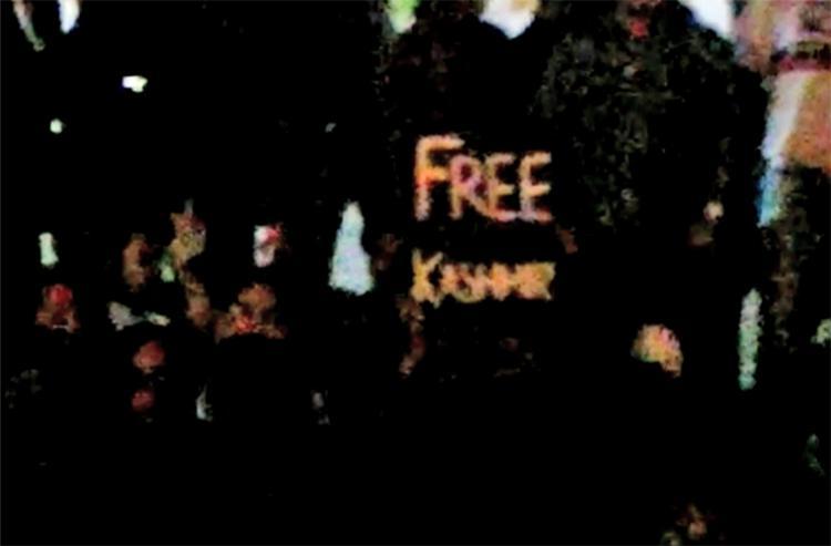 Sedition case Bail granted to Mysuru student who held Free Kashmir placard