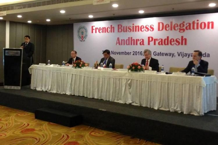 53 French firms visit Andhra evince interest to invest in Amaravati